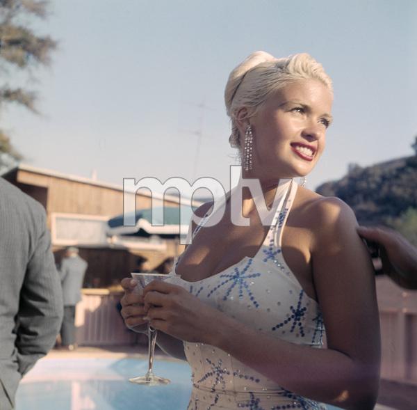 Jayne Mansfield1956Photo by Ernest Reshovsky© 2001 Marc Reshovsky - Image 0774_0561