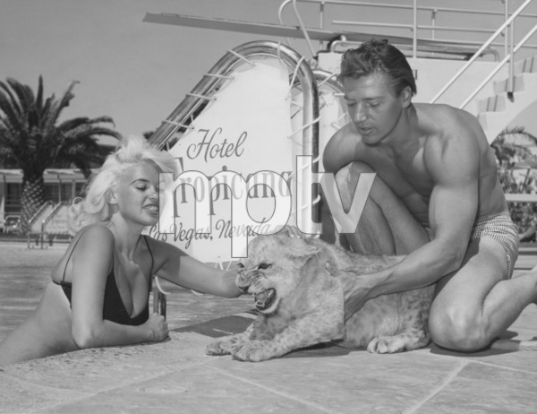 Jayne Mansfield and her husband Mickey HargitayCirca 1960 - Image 0774_0564