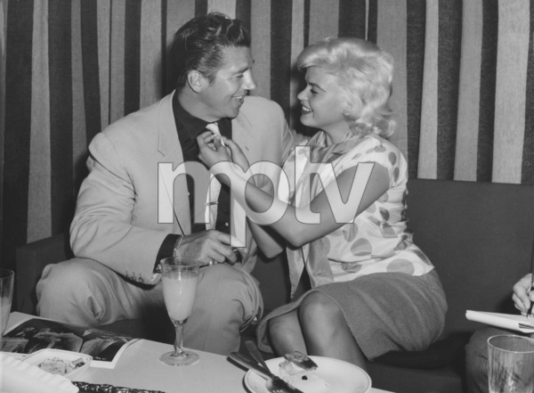 Jayne Mansfield with husband Mickey Hartigay en route to the Berlin Film Festival1960 - Image 0774_0565