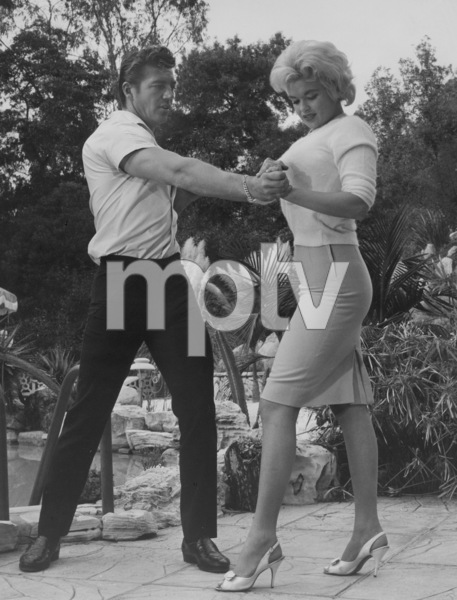 Jayne Mansfield and husband Mickey HargitayCirca 1958Photo by David Kovar - Image 0774_0614