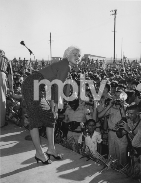 Jayne MansfieldU.S.O. Tour1957 © 1978 Gerald Smith - Image 0774_0620