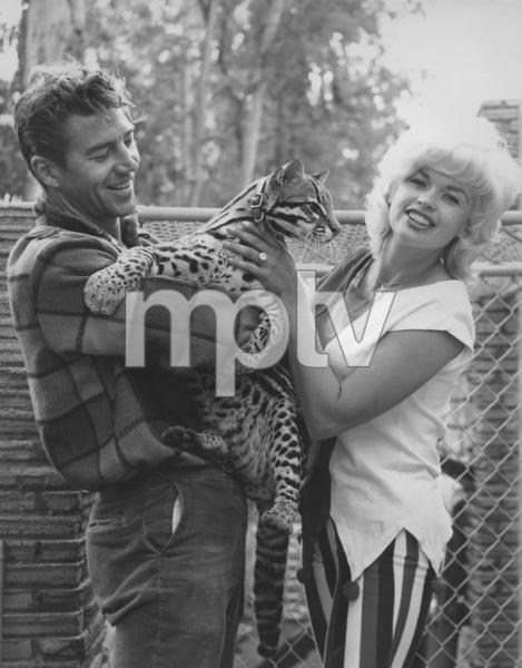 Jayne Mansfield and her husband Mickey HargitayCirca 1963 © 1978 Eric Skipsey - Image 0774_0633