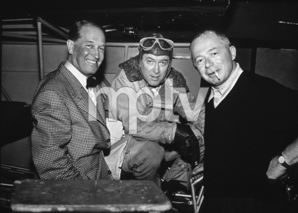 James Stewart with Maurice Chevalierand Director Billy Wilder, c. 1957 - Image 0802_0925