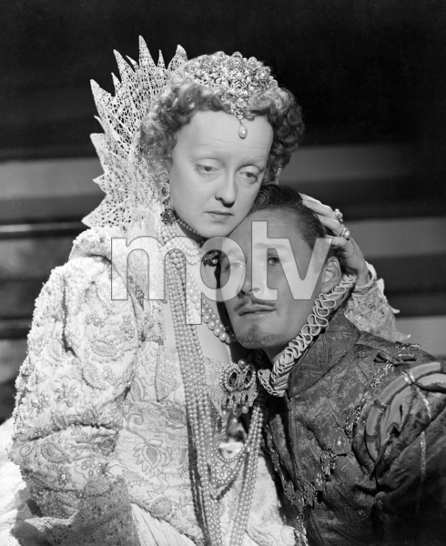 "Bette Davis and Errol Flynn in ""The Private Lives of Elizabeth and Essex""1939 Warner Brothers** I.V. / M.T. - Image 0803_1051"