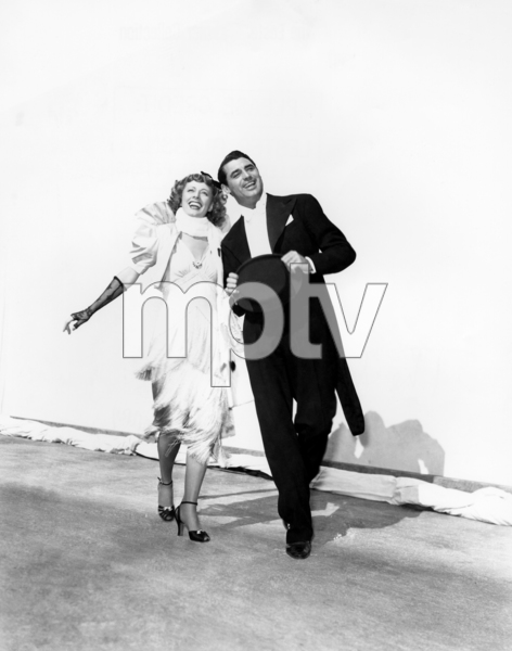 "Irene Dunne and Cary Grant in ""The Awful Truth""1937 Columbia** I.V. / J.J. - Image 0807_2091"