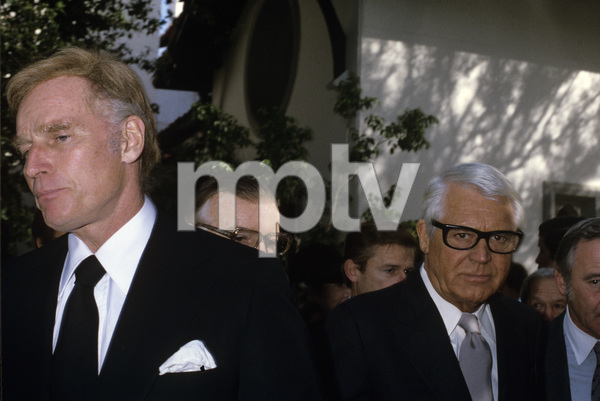 Cary Grant with Charlton Heston, Roddy McDowall and Jack Lemmoncirca 1970s© 1978 Gary Lewis - Image 0807_2119