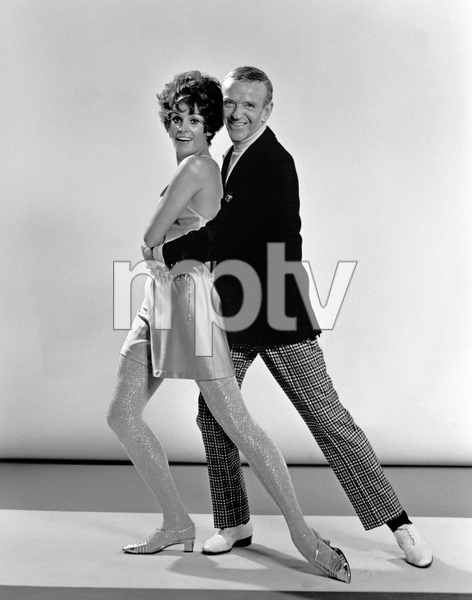 Fred Astaire and Barrie Chasecirca 1968 © 1978 John Engstead - Image 0814_0839