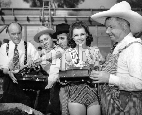 W. C. Fields & Earl  Carroll, Jack Benny and Eddie Cantor, 1939.Photo by Gene Lester - Image 0815_0418