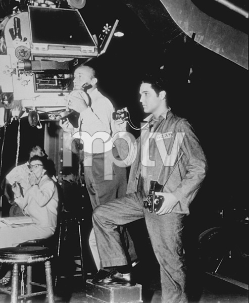 "Elvis Presley during the filmingof ""Jailhouse Rock""1957 MGM - Image 0818_0116"