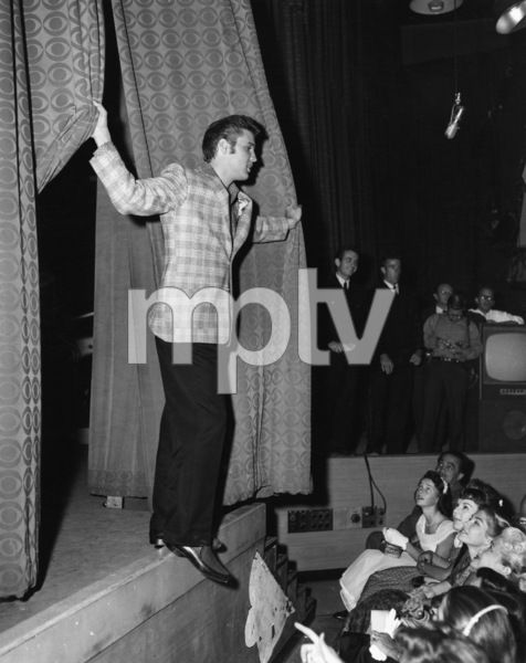 """Elvis Presley in Los Angeles for an appearance on """"The Ed Sullivan Show""""09-09-1956Photo by Gabi Rona - Image 0818_0406"""