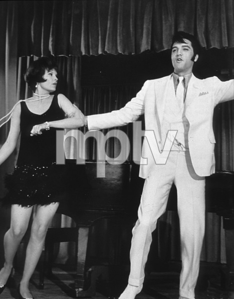 """Elvis Presley and Marlyn Mason""""The Trouble with Girls""""1969 MGM - Image 0818_0519"""