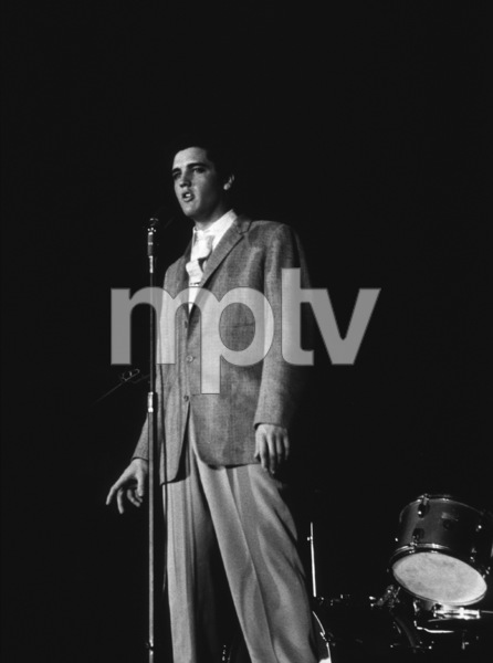 Elvis Presley, 1956 L.A. performance. Photo: Ernest Reshovsky © 1978 Marc Reshovsky - Image 0818_0549