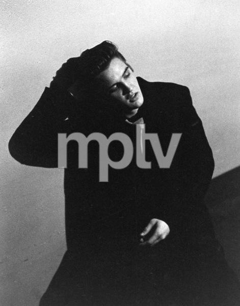Elvis PresleyDuring a 1956 Performance in L.A.,Ca.Photo by Ernest Reshovsky © 1978 Marc Reshovsky - Image 0818_0563