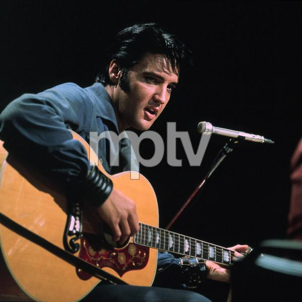 """Elvis Presley during his """""""