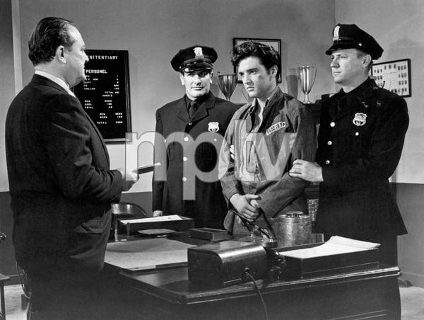 """""""JAILHOUSE ROCK"""" Elvis Presley, 1957, MGM, I.V. - Image 0818_0659"""