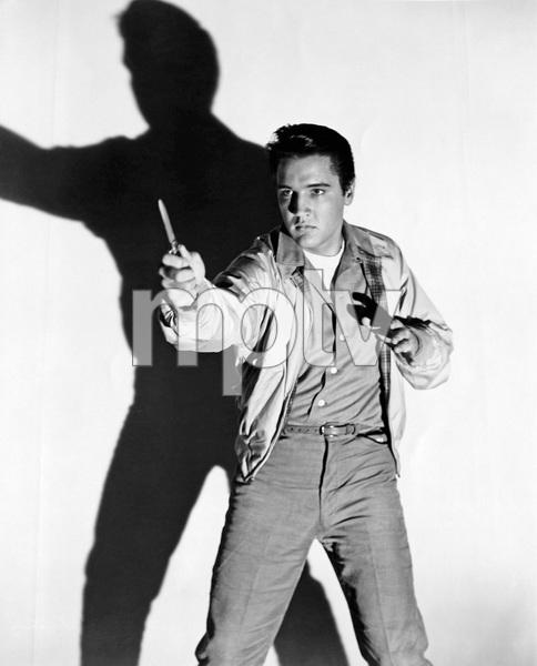 Elvis Presley with switchbladecirca 1950s** I.V. - Image 0818_0660