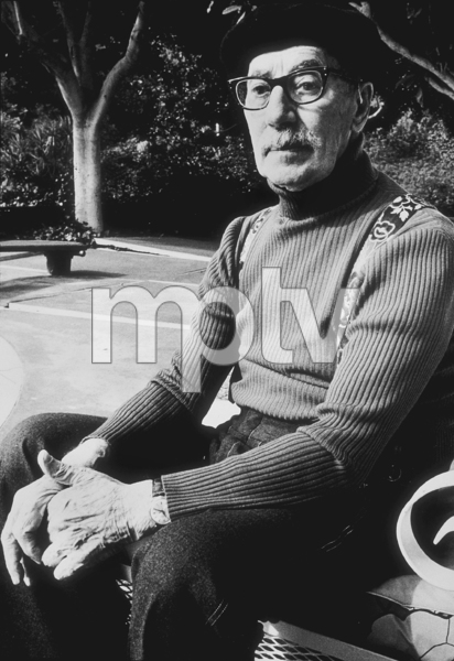 Groucho Marx in Beverly Hills, CA 1977 © 1978 Ulvis Alberts - Image 0820_0135