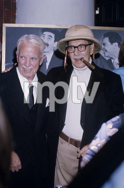 Groucho Marx and Victor Heermancirca 1973© 1978 Gary Lewis - Image 0820_0476