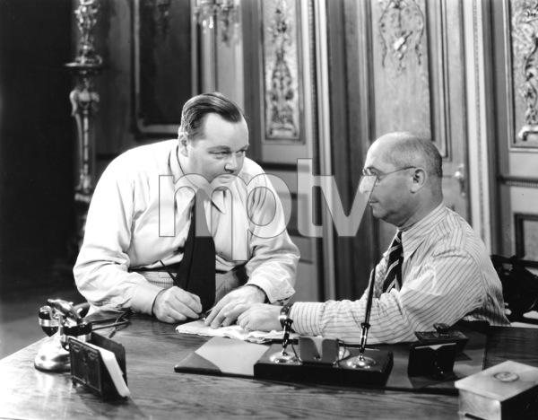"Roscoe ""Fatty"" Arbucklewith head of Brooklyn Vitaphone StudioC. 1928**I.V. - Image 0829_0027"