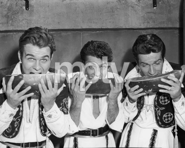 William Reynolds, Tony Curtis and Hugh O