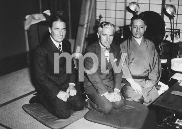 Charlie Chaplin and Sydney Chaplinduring a trip to the Far Eastcirca 1931**I.V. - Image 0860_0694