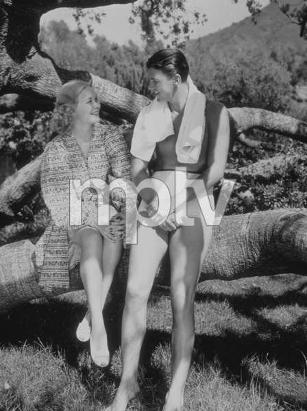 Ronald Reagan and first wife Jane WymanC. 1940MPTV - Image 0871_0025