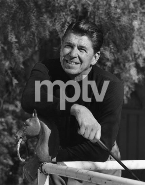 Ronald Reagan at his ranch in the Santa Monica mountains circa 1966 © 1978 Gene Trindl - Image 0871_1829