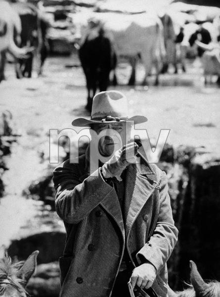 "John Wayne in ""The Cowboys,"" Warner Bros. 1972. - Image 0898_0251"