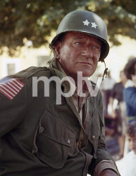 "John Wayne in ""Cast a Giant Shadow""1966© 1978 David Sutton - Image 0898_0859"