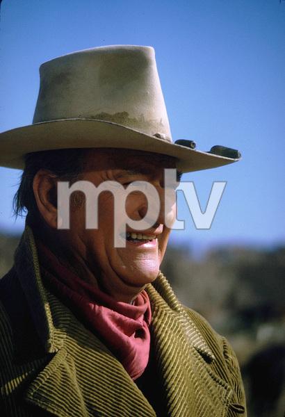 "John Wayne in ""The Cowboys,"" Warner Bros. 1971. © 1978 David Sutton - Image 0898_0882"