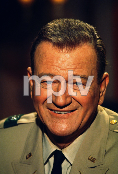 "John Wayne in ""The Green Berets,"" Warner Bros. 1967. © 1978 David Sutton - Image 0898_0903"