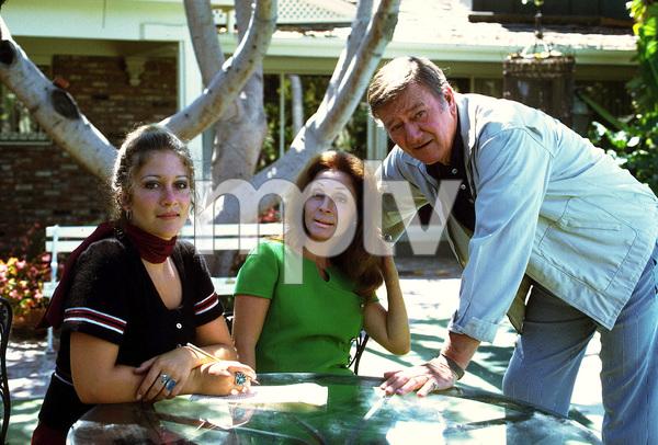 John Wayne with his daughter, Aissa, and his wife, Pilar, at home, 1972. © 1978 David Sutton - Image 0898_0906