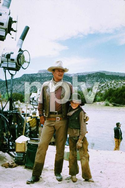 "John Wayne in ""The Cowboys,"" Warner Bros. 1971. © 1978 David Sutton - Image 0898_0975"
