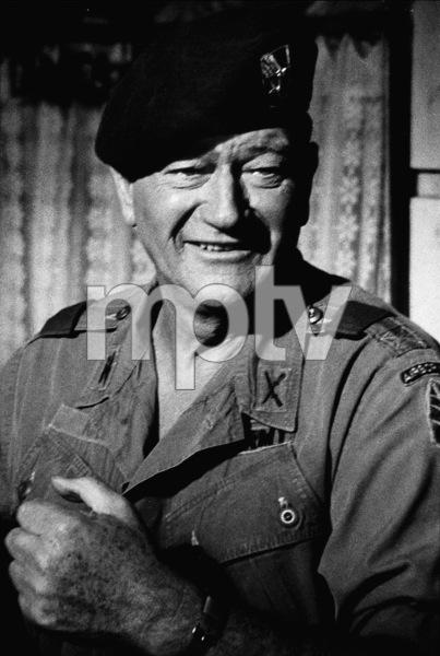 "John Wayne in ""The Green Berets,"" Warner Bros. 1967. © 1978 David Sutton - Image 0898_1118"