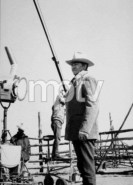 "John Wayne on location for ""The Cowboys,"" Warner Bros. 1971. © 1978 David Sutton - Image 0898_1121"