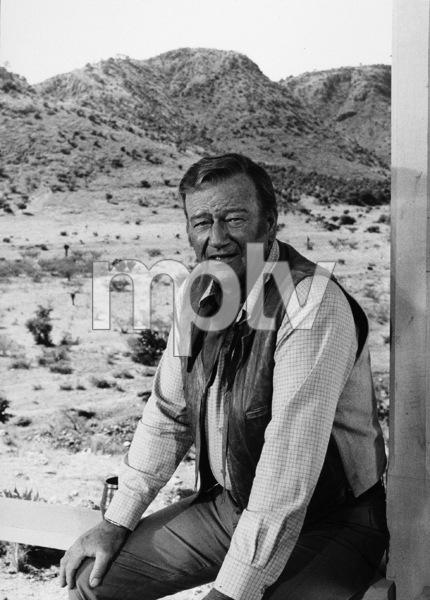 "John Wayne on location for ""Chisum,"" Warner Bros. 1969. © 1978 David Sutton - Image 0898_1124"