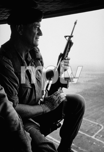 "John Wayne in ""The Green Berets,"" Warner Bros. 1967 © 1978 David Sutton - Image 0898_1130"