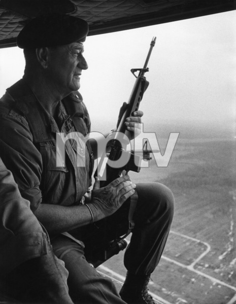 "John Wayne in ""The Green Berets"" 1967 Warner Bros. © 1978 David Sutton - Image 0898_1130"