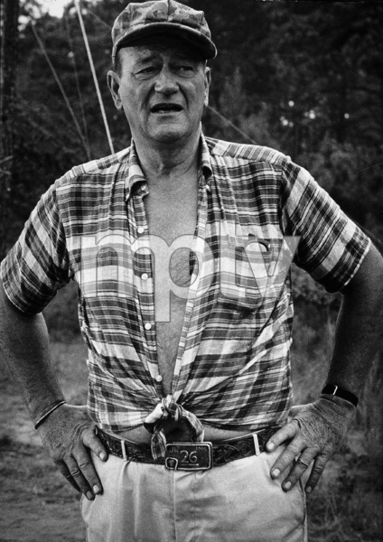 "John Wayne in ""The Green Berets,"" Warner Bros. 1967. © 1978 David Sutton - Image 0898_1131"