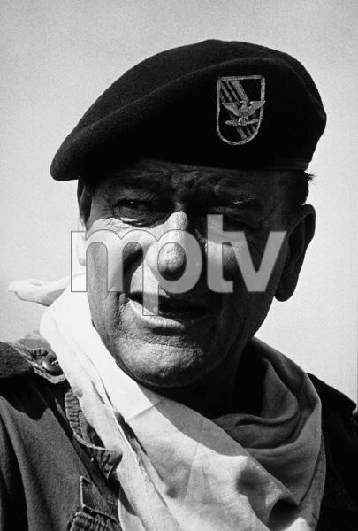 "John Wayne in ""The Green Berets,"" Warner Bros. 1967. © 1978 David Sutton - Image 0898_1132"