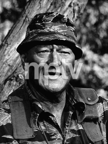 """John Wayne in """"The Green Berets,"""" Warner Bros. 1968. - Image 0898_2032"""
