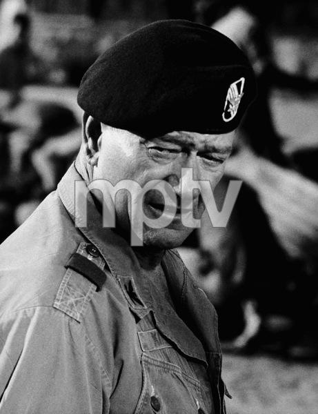 """John Wayne in """"The Green Berets,"""" Warner Bros. 1968. - Image 0898_2033"""