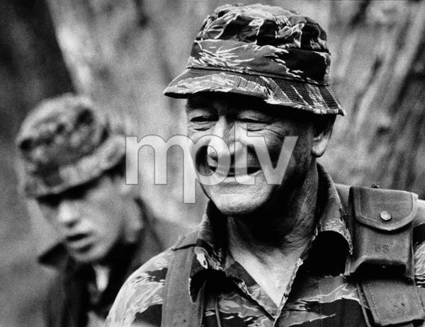 """John Wayne in """"The Green Berets,"""" Warner Bros. 1968. - Image 0898_2035"""
