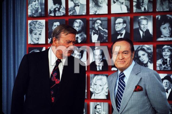 John Wayne and Bob Hope, 1970. © 1978 David Sutton - Image 0898_3118