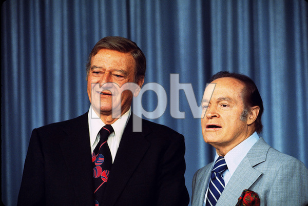 John Wayne and Bob Hope, 1970. © 1978 David Sutton - Image 0898_3119