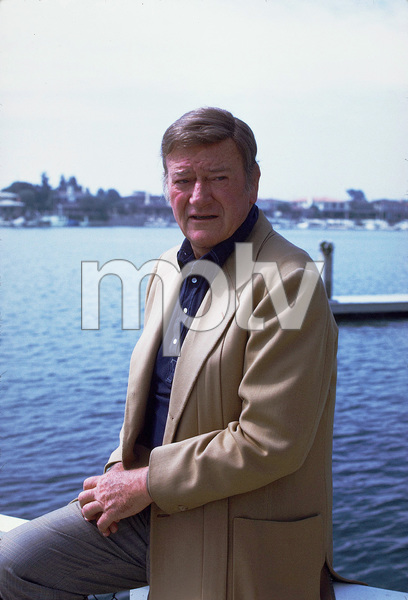 John Wayne, 1972. © 1978 David Sutton - Image 0898_3183