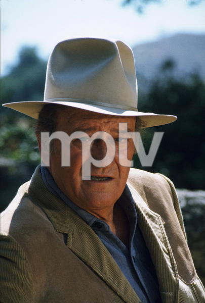 John Wayne, 1973. © 1978 David Sutton - Image 0898_3212
