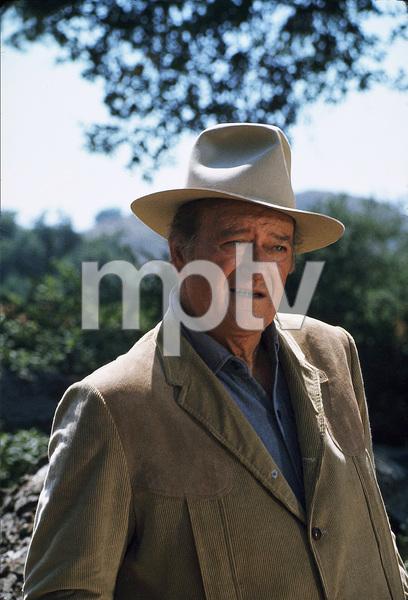 John Wayne, 1973. © 1978 David Sutton - Image 0898_3215