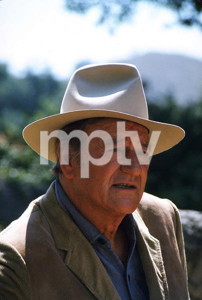 John Wayne, 1973. © 1978 David Sutton - Image 0898_3217