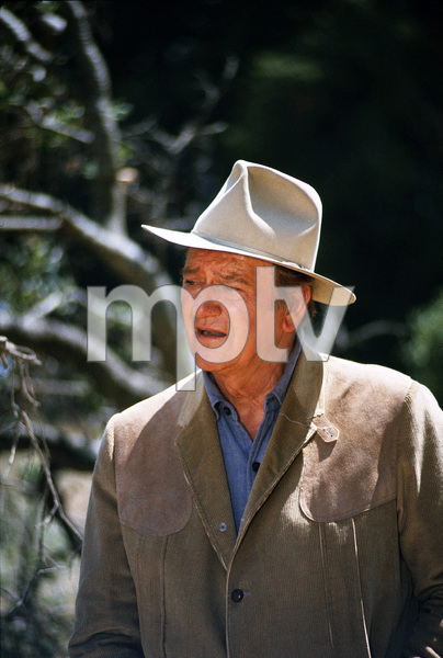 John Wayne, 1973. © 1978 David Sutton - Image 0898_3219